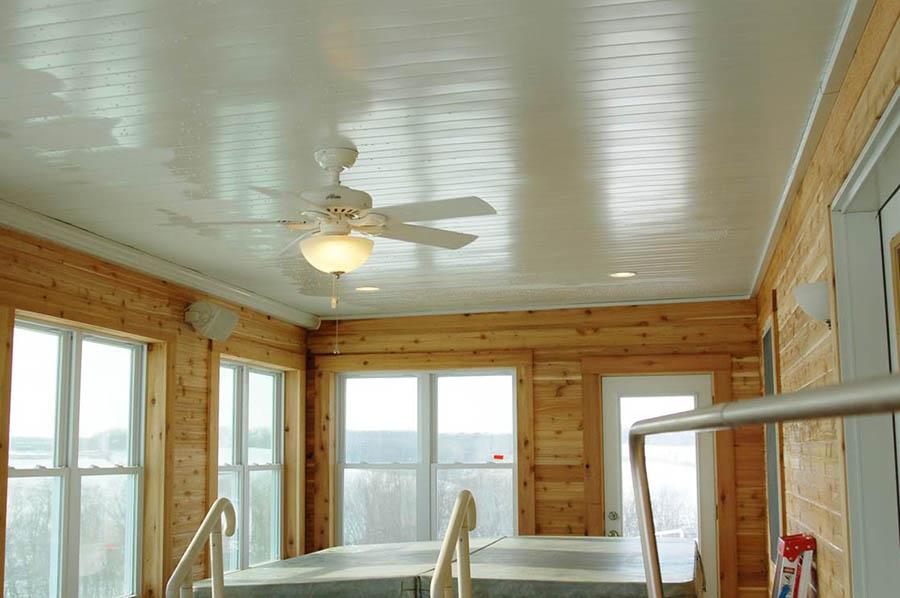 3 Season Sun Room Interior Addition Finished
